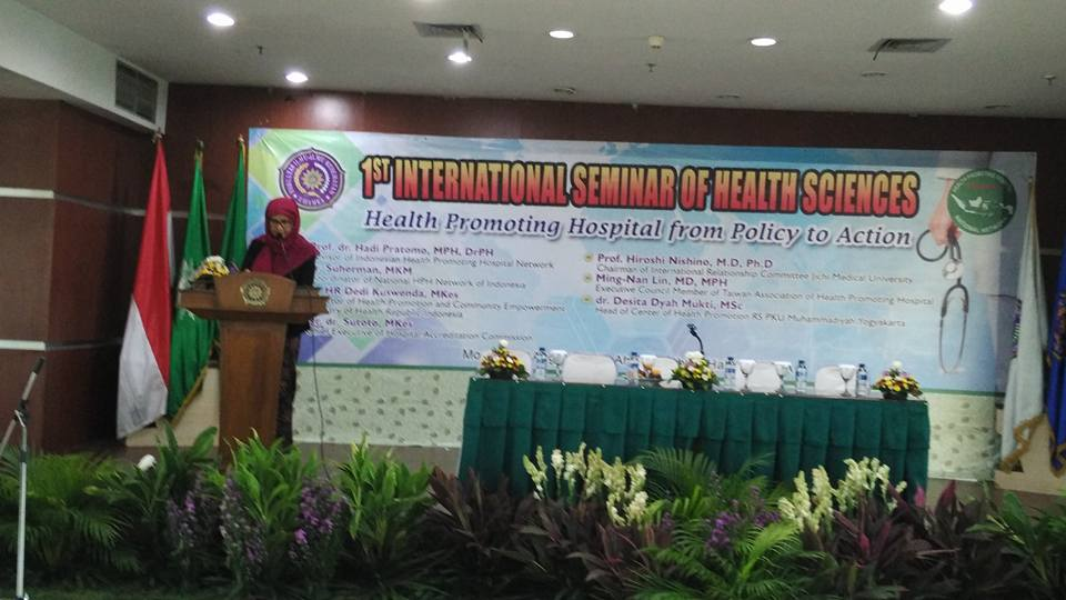 International seminar Faculty of Health Sciences UHAMKA